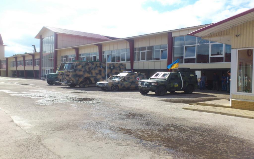 Батальйону Донбас передали 4 автомобілі!