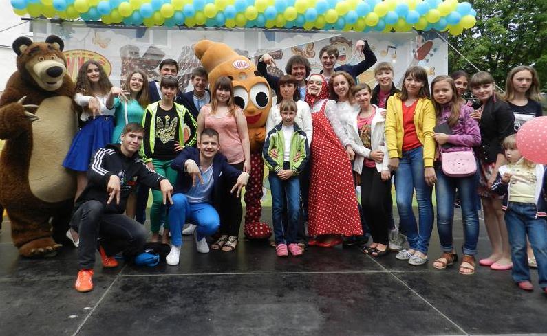 Свято дитинства в місті Миргороді!