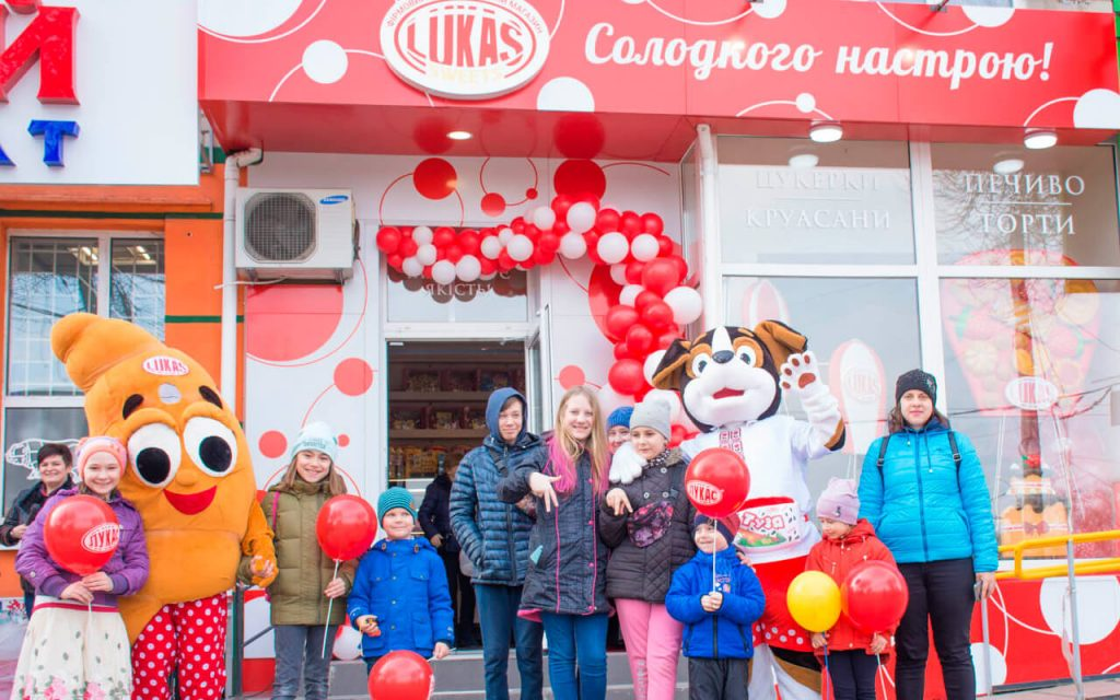 Солодке відкриття нового магазину Lukas Sweets у Кременчуці!